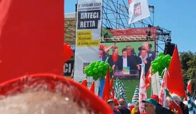 Il 1° giugno a Roma 300 pensionati  cremonesi di Cgil-Cisl-Uil contro il taglio delle pensioni.Soddisfatto Mimmo Palmieri (Spi-Cgil Cremona)