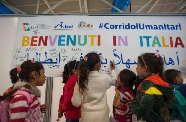 Pianeta Migranti. Corridoi umanitari, via possibile e sicura.