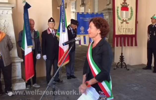 Festa della Repubblica 2 giugno 2019 Cerimonia a Crema (Video di E.Mandelli)