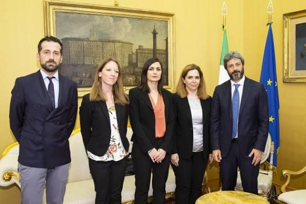 Amnesty Il Presidente FICO incontra la moglie dello scienziato iraniano Djalali condannato a morte