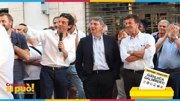 Noi domenica 9 giugno  andiamo a votare per #GalimbertiSindaco di Cremona . E tu?