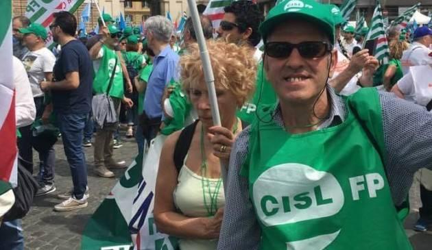 Cremonesi di FP-CGIL, FP-Cisl, FLP-Uil oggi a Roma a manifestare per i Servizi Pubblici