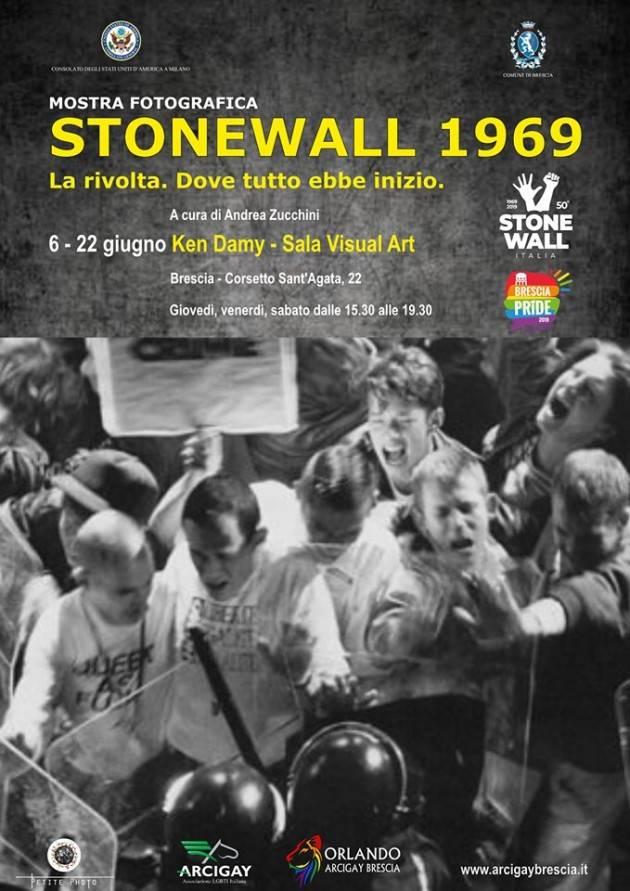 Mostra fotografica STONEWALL 1969 a Brescia fino al 22 giugno