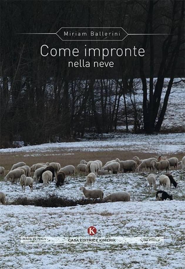 Recensione di Vincenzo Capodiferro del libro 'COME IMPRONTE NELLA NEVE' di Miriam Ballerini