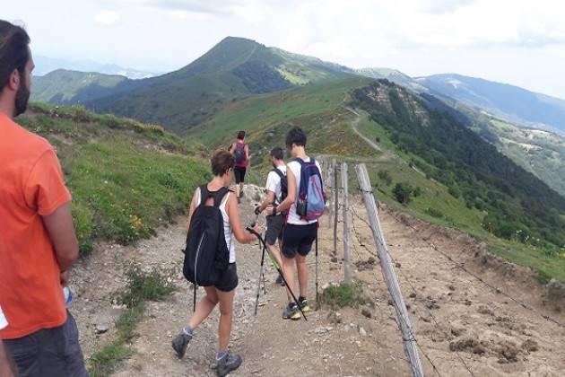 Domenica 14 luglio pane e salame al Monte Chiappo