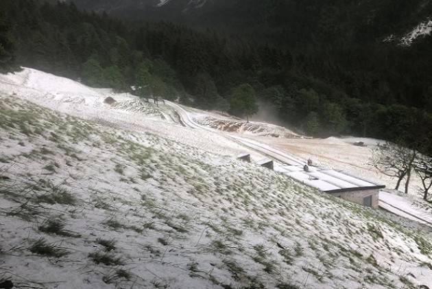 Maltempo: campi devastati dalla Valtellina al Cremonese