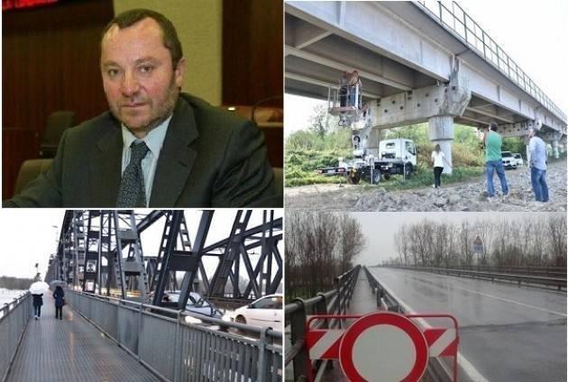 Luciano Pizzetti : Impegnato il Governo a finanziare il nuovo ponte Casalmaggiore-Colorno