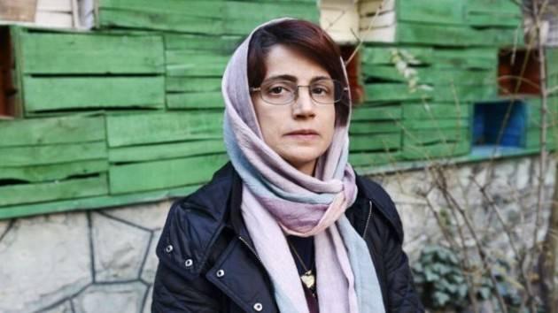 Amnesty Libertà per Avv. Iraniana NASRIN SOTOUDEH Firma l'appello