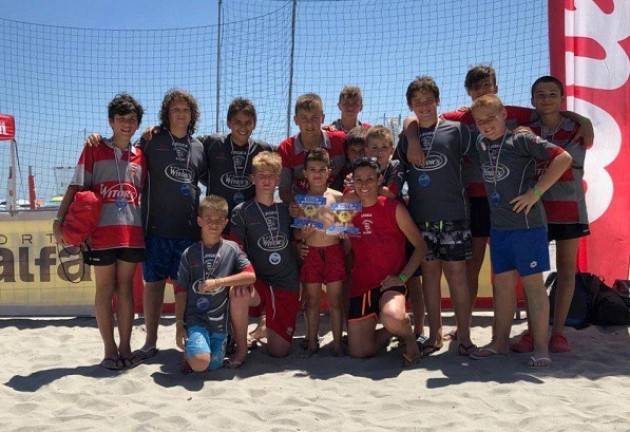 Torneo Beach Rugby a Igea Marina per gli under 12 e under 14