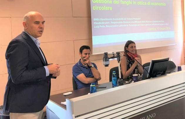 Padania Acque : trattamento fanghi da depurazione ed economia circolare