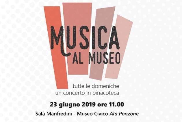 Domenica 23 giugno ultimo appuntamento della rassegna Musica al Museo