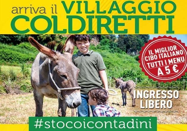 """Dal 5 al 7 luglio, a Milano, """"Il villaggio contadino della Coldiretti"""""""