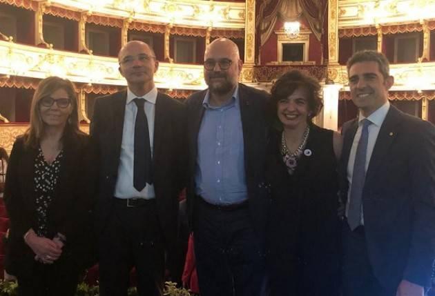 Presentato l'accordo su Capitale della Cultura 2020