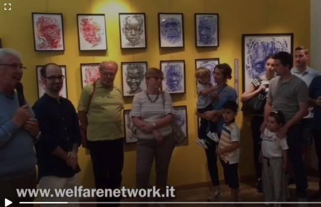 Crema Inaugurazione mostra Anna lopopolo e Michele Mariani – video di E.mandelli