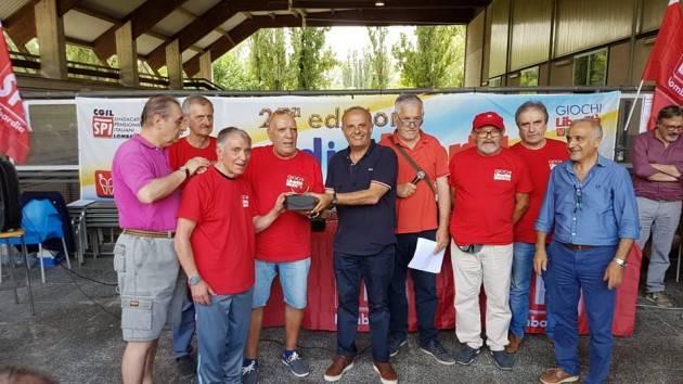 Cremona il Torneo dello SPI-CGIL Lombardo di Bocce è stato vinto dalla Ass. Parkinson di Cassago Magnago