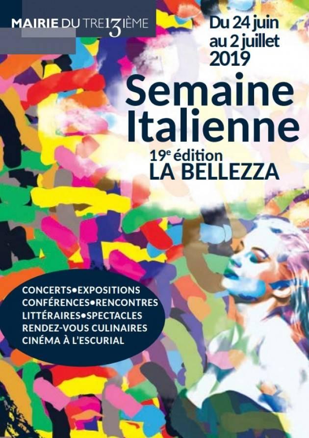 AISE A PARIGI LA XIX EDIZIONE DELLA SETTIMANA ITALIANA- LA BELLEZZA