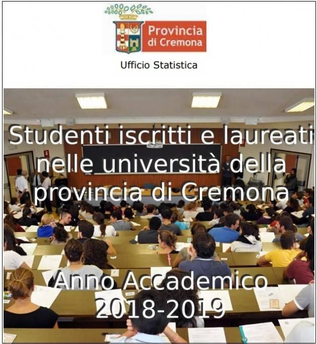 Università: Cremona attrattiva per le province limitrofe