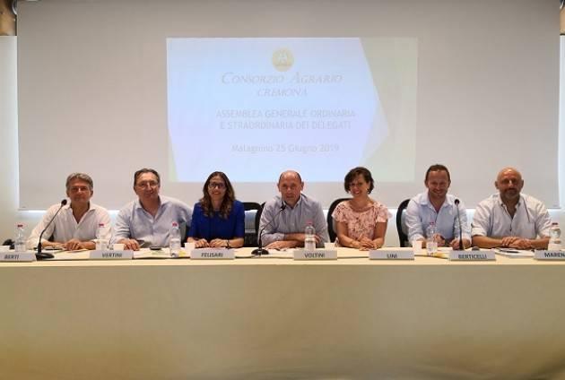 Consorzio Agrario Cremona: approvato il bilancio 2018, fatturato e investimenti in costante crescita