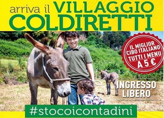 """A Milano tre giorni all'insegna del Made in Italy con il """"Villaggio della Coldiretti"""""""
