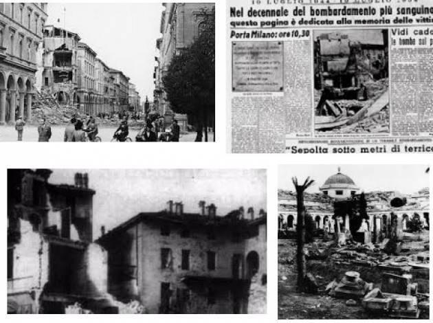 Bombardamento su Cremona del '44, il 10 luglio la commemorazione