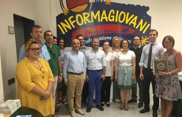Imprenditoria giovanile, una delegazione turca fa visita all'Informagiovani