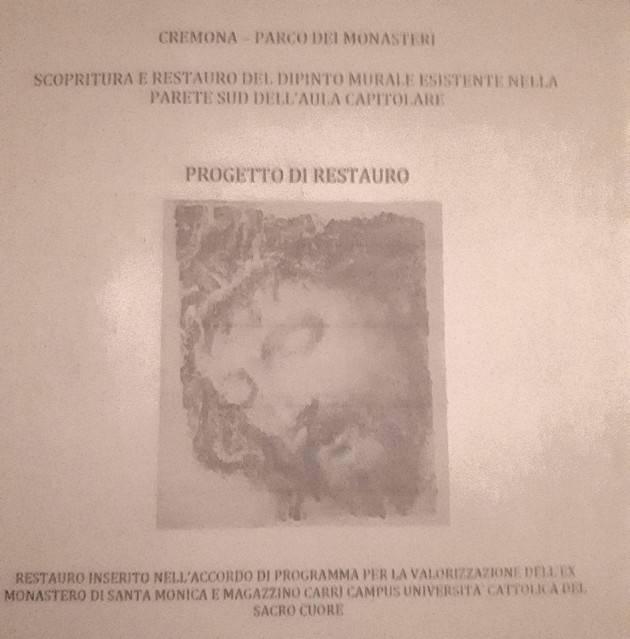 Cremona Recupero dell'ex Monastero di S. Monica, si prosegue a passi spediti