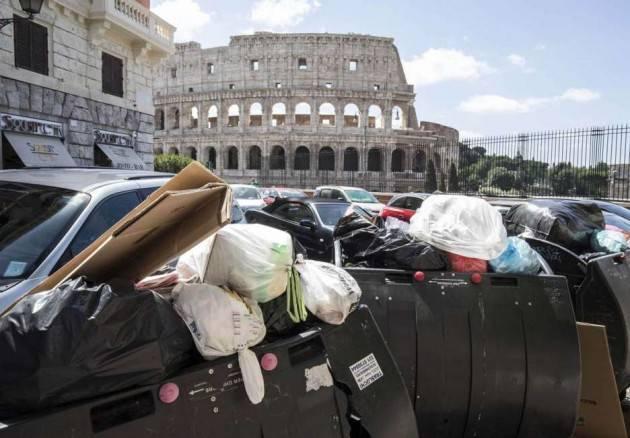 ADUC Roma Capitale. Le promesse da marinaio della Raggi. Abolire la tariffa rifiuti del 2019