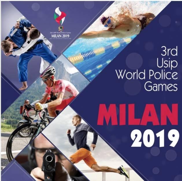 LnM Milano  3° raduno  USIP World Police Games  dal 19 al 26 settembre 2019