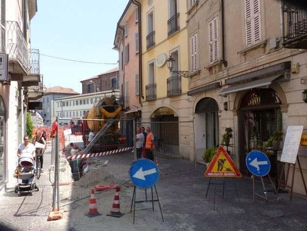 Crema, Padania Acque S.p.A.: dopo l'ok della Soprintendenza, è stato chiuso il cantiere di via Mazzini