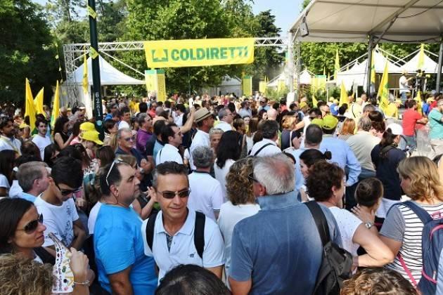 TURISMO: COLDIRETTI IN 700MILA AL VILLAGGIO CONTADINO A MILANO