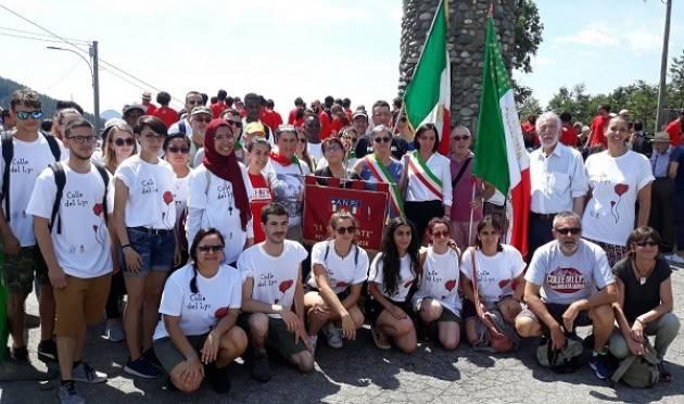 75° anniversario dell'eccidio del Colle del Lys, presente delegazione del Comune di Cremona