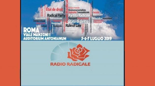 Roma 41° Congresso del Partito Radicale. Eletti Maurizio Turco, segretario, e Irene Testa, tesoriere. | Sergio  Ravelli