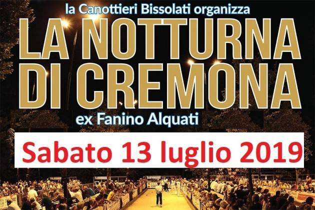 Alla Bissolati 7^ edizione della  'Notturna di Cremona'  TENTATIVO RECORD DEL MONDO E STAGE FORMATIVO
