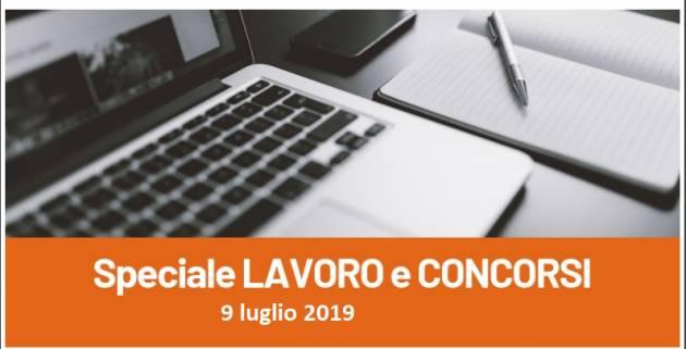 Informa Giovani Cremona SPECIALE LAVORO E CONCORSI del 9 luglio 2019