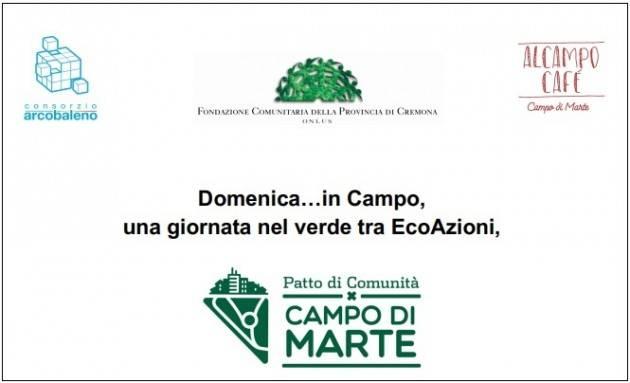 Crema Domenica…in Campo, una giornata nel verde tra EcoAzioni  Evento 14 luglio