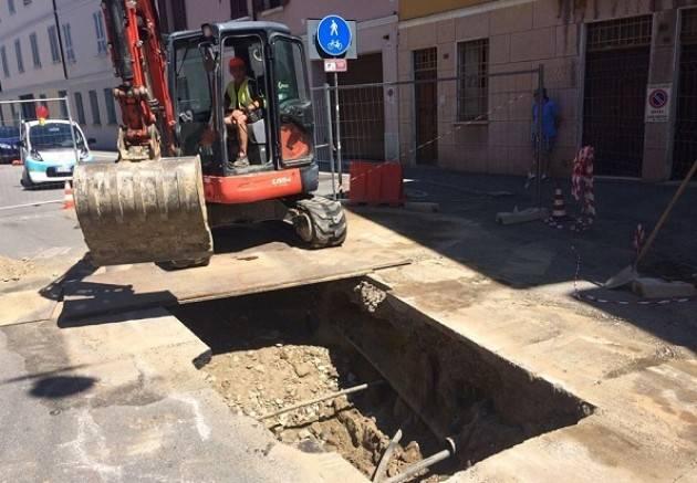 Cremona, Padania Acque :  da lunedì 15 luglio doppio cantiere fognario in via Platina e in via Trebbia