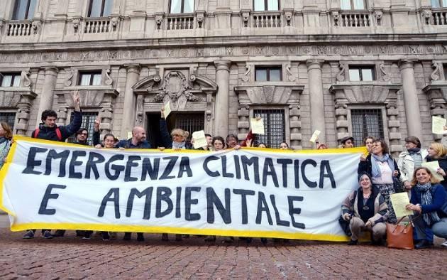 Bologna I Verdi chiedono alla Regione di proclamare stato emergenza climatica