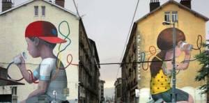 A Genova : al via 'On The Wall' street art urbana per rilanciare il quartiere vicino al Ponte Morandi |Christian Flammia