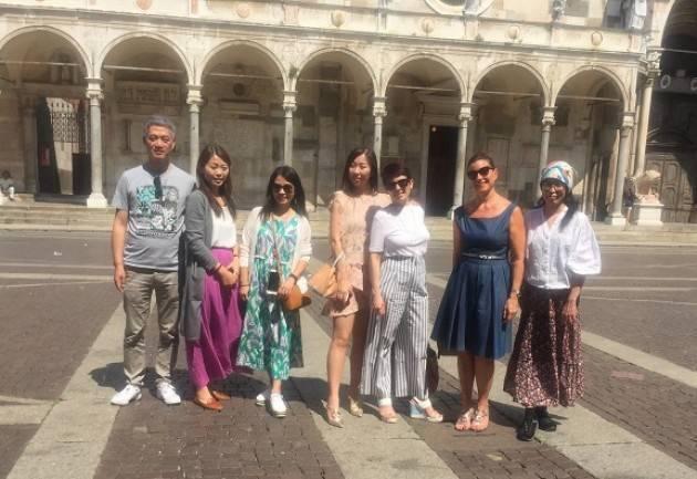 Cresce l'interesse per Cremona dei tour operator asiatici