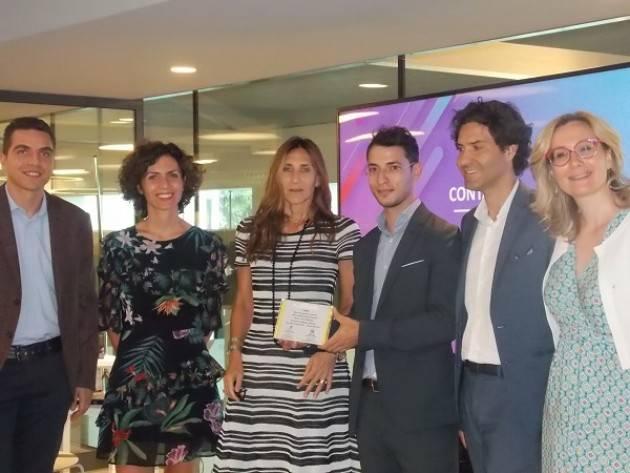 Milano  Réseau Entreprendre Lombardia e Arval Italia premiano Dilium S.r.l.,per  il progetto CARSCARE