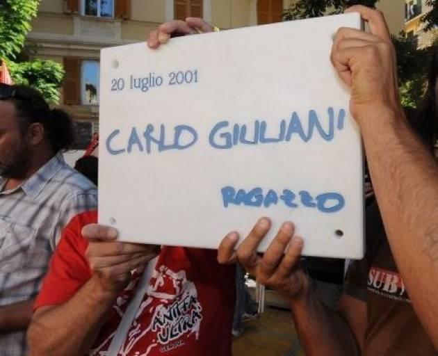 AccaddeOggi  20  luglio 2001 Carlo Giuliani ucciso durante i fatti  del G8 di Genova