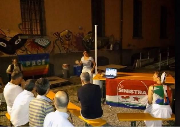 Cremona  ASSEMBLEA TERRITORIALE APERTA  secondo tempo de La Sinistra il 24 luglio