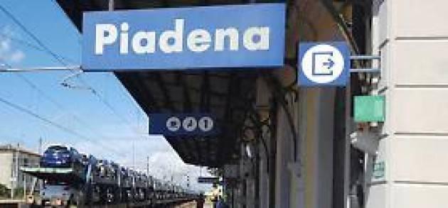 Piloni (PD) PIADENA-DRIZZONA. ANCORA UN DERAGLIAMENTO. 'REGIONE INTERVENGA CON RFI!'
