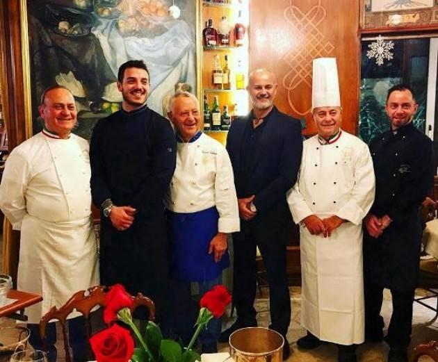 I piatti  delizia di Sinatra, Pavarotti e Dion protagonisti a Cremona il 30 luglio con le star della cucina Zeffirino e Vezzoni