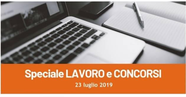 Informa Giovani Cremona SPECIALE LAVORO E CONCORSI del 23 luglio 2019