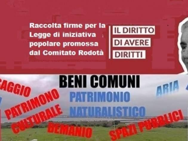 Anche a Cremona La raccolta firme per il DdL 'Sui beni comuni' è possibile fino al 30 luglio