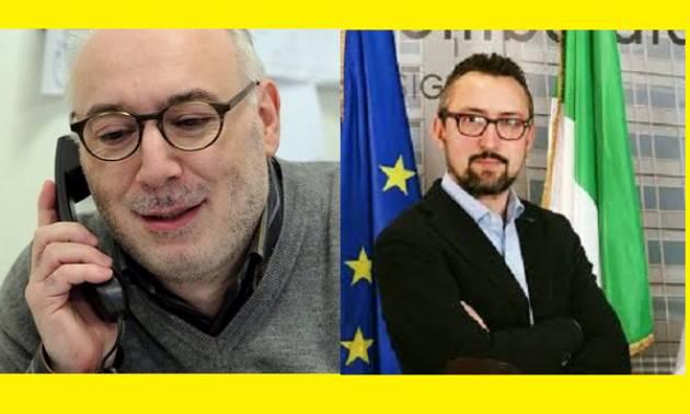 Battibecco su FB  fra il giornalista Paolo Zignani ed il consigliere del PD Matteo Piloni.