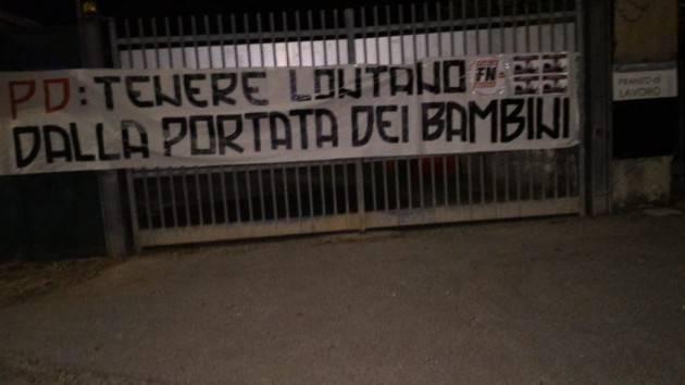 FESTA PD SORESINA, PILONI (PD): Quello di FORZA NUOVA 'UN GESTO VERGOGNOSO E VIGLIACCO'