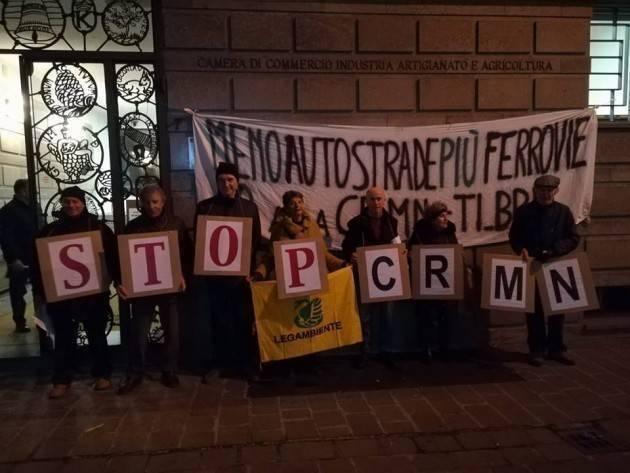 A Milano Presidio NO Cr-Mn Sì riqualificazione strada provinciale 10  Martedì 30 Luglio 2019  ore 16.30-18.30