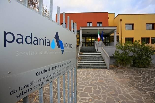 Cremona Padania Acque : rettifica nota informativa relativa alla fatturazione dell'uso dei pozzi privati e degli scarichi in fognatura